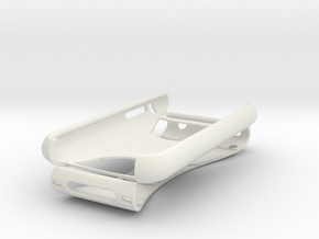iPhone 3G / 3Gs Overland 2 Piece Case in White Strong & Flexible