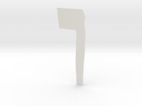 mur2p2 in White Natural Versatile Plastic