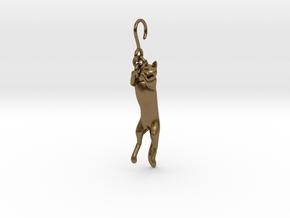 Cat Earing1 in Natural Bronze