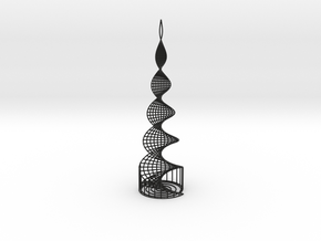 Helix Tower in Black Strong & Flexible