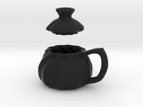 Soup Filled Dumpling Mug in Black Strong & Flexible