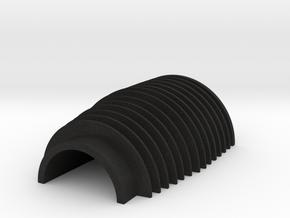 Veron Cylinder Halve Replica(For Merr Sonn) in Black Acrylic