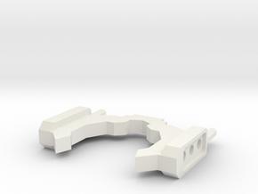 Sunlink - Ani Minerva G1 Style Ears  v1 in White Natural Versatile Plastic