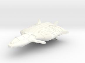 Mafka Transport Cruiser in White Processed Versatile Plastic