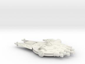 NASC Gemini Solo (fixed) in White Natural Versatile Plastic