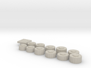Parthenon Column Drum Puzzle 1:100 in Sandstone