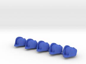 5 x British Navy Bicorne in Blue Processed Versatile Plastic