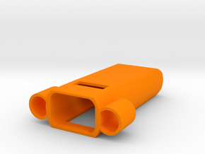 Fitbit Flex Pendant (Y-Wing) in Orange Processed Versatile Plastic