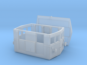 Badoni shunting tractor Abl IV in Smooth Fine Detail Plastic