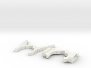 Sunlink - Ani Minerva Antennas + G1 Style Ears v1 in White Natural Versatile Plastic