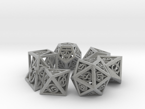 Deathly Hallows Dice Set in Metallic Plastic