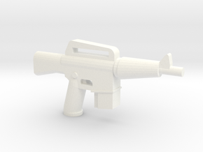 CAR-15 in White Processed Versatile Plastic
