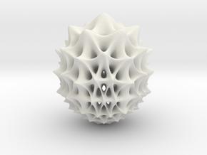 Martin02 in White Natural Versatile Plastic