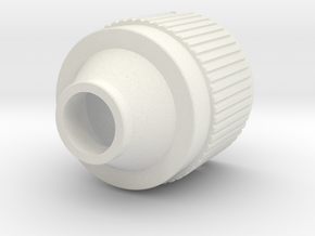 CapConus in White Natural Versatile Plastic