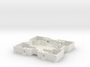 23 Shapeways2 in White Natural Versatile Plastic