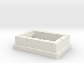 FREMO Signal Base - Foundations in White Natural Versatile Plastic