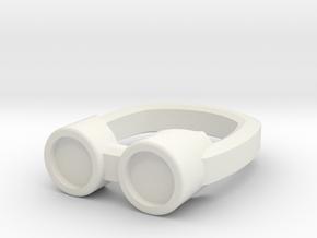 Steampunk Goggles for ModiBot in White Natural Versatile Plastic