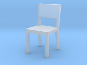 1:48 chair3 in Smooth Fine Detail Plastic