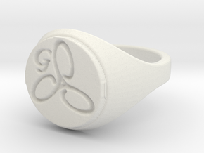 ring -- Wed, 01 Jan 2014 18:46:06 +0100 in White Natural Versatile Plastic