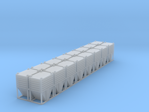 Dolomite Container Set - Z Scale in Smooth Fine Detail Plastic