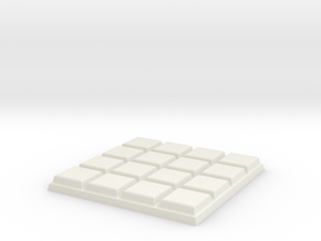 NoChoc in White Natural Versatile Plastic