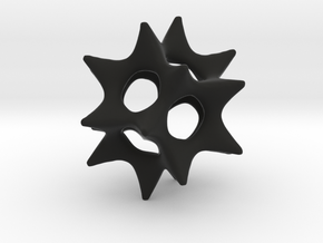 Cool Starfish 3D in Black Strong & Flexible