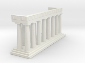 1:150 Parthenon Eastern Facade in White Strong & Flexible