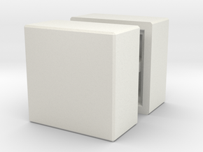 NeoCube Box in White Natural Versatile Plastic