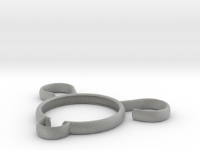 Bearina-Open Design IUD (concept) in Metallic Plastic