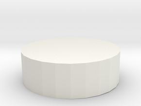 Box 001 in White Natural Versatile Plastic