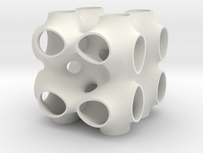 P-surface with 111 inclusion in White Natural Versatile Plastic