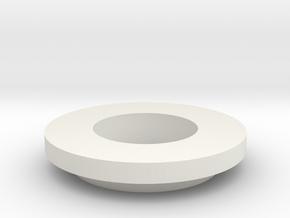 HALSUGRIP_12_10_washer in White Natural Versatile Plastic