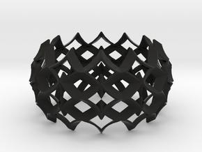 bracelet 03 in Black Strong & Flexible