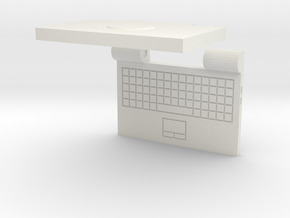 Laptop in White Strong & Flexible
