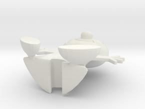 Nabisco Shredded Wheat Spoonman in White Natural Versatile Plastic