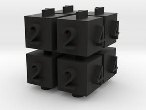 Cube Die in Black Strong & Flexible