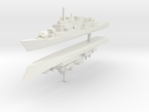 Maestrale frigate 1:2400 x2 in White Strong & Flexible