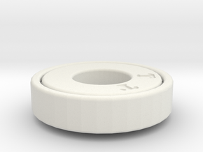 RingGear2 in White Natural Versatile Plastic