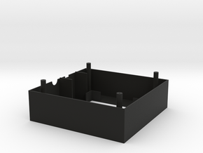 Rainbowduino Enclosure (Front) in Black Natural Versatile Plastic