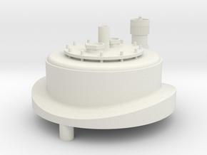 7mm Oil Filler in White Natural Versatile Plastic