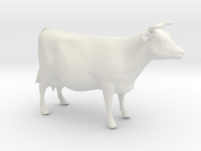 My favorite cow (smaller) in White Natural Versatile Plastic