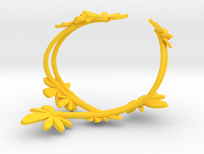 Forsythia Bracelet in Yellow Strong & Flexible Polished