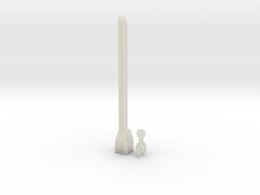 Sunlink - 3mm: Sword in Transparent Acrylic