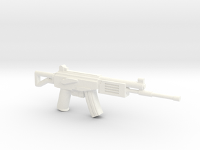 Galil in White Processed Versatile Plastic