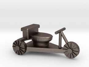 toilet racer cart - Hampdenfest! in Polished Bronzed Silver Steel