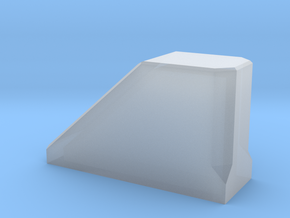 Stopblock-1 in Smooth Fine Detail Plastic