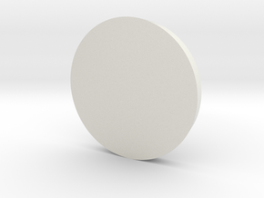 40mm dragonforge hollow base in White Natural Versatile Plastic