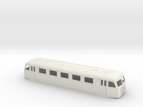 Skinnebus32 in White Natural Versatile Plastic