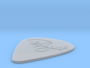 Ted Nugent Pick in Smooth Fine Detail Plastic