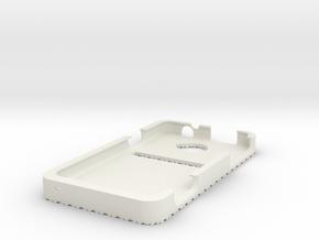 Fiber Case 2 in White Natural Versatile Plastic